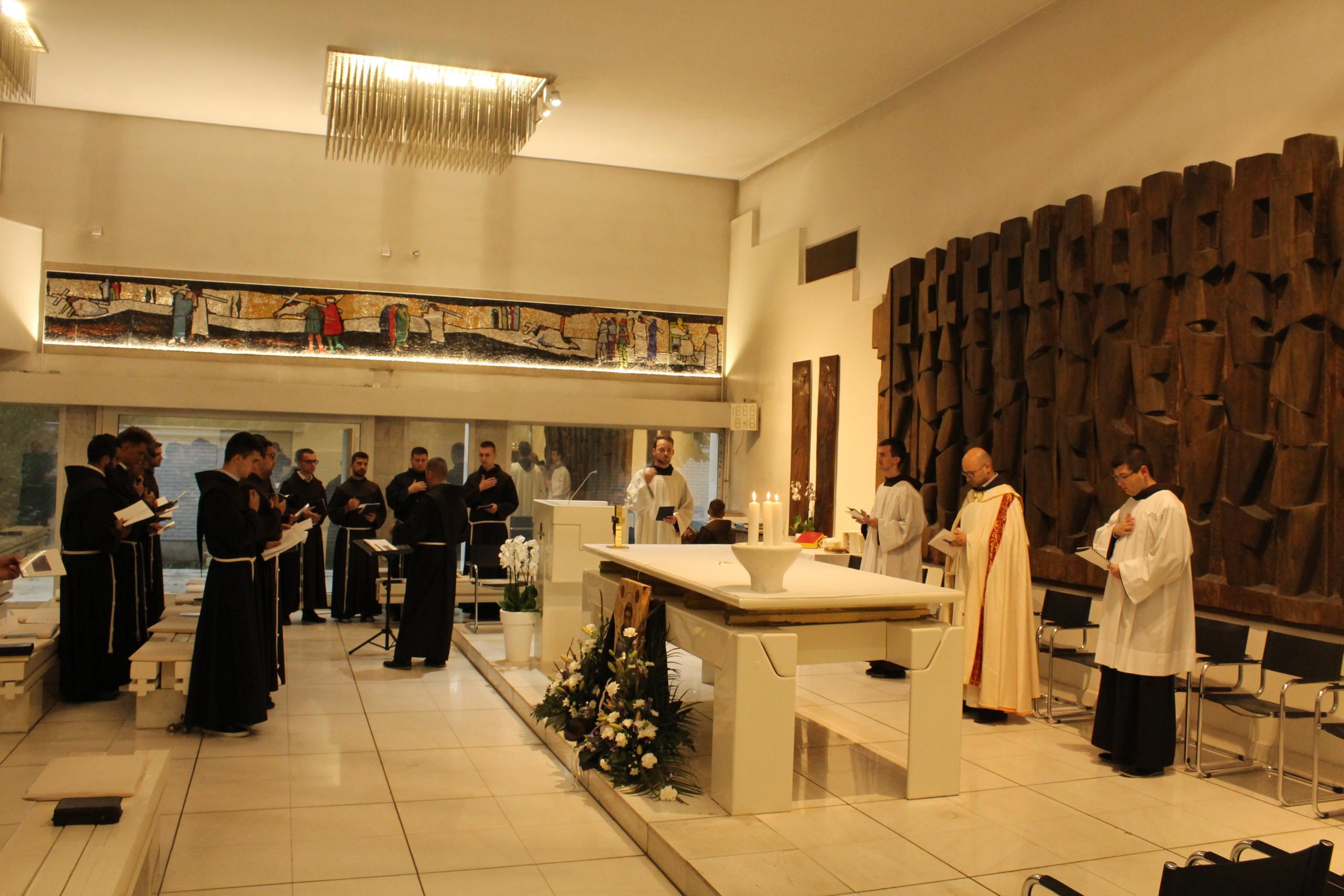 Obred preminuća sv. Franje na FTS