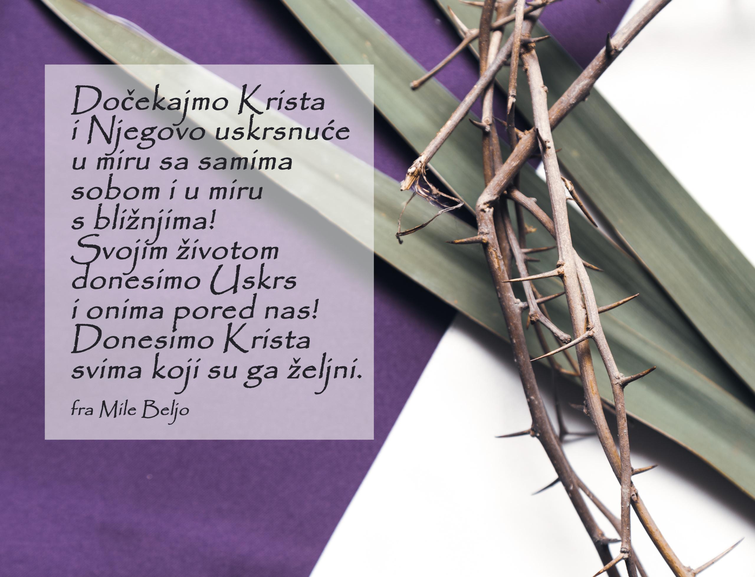 Što donosim Uskrslom?